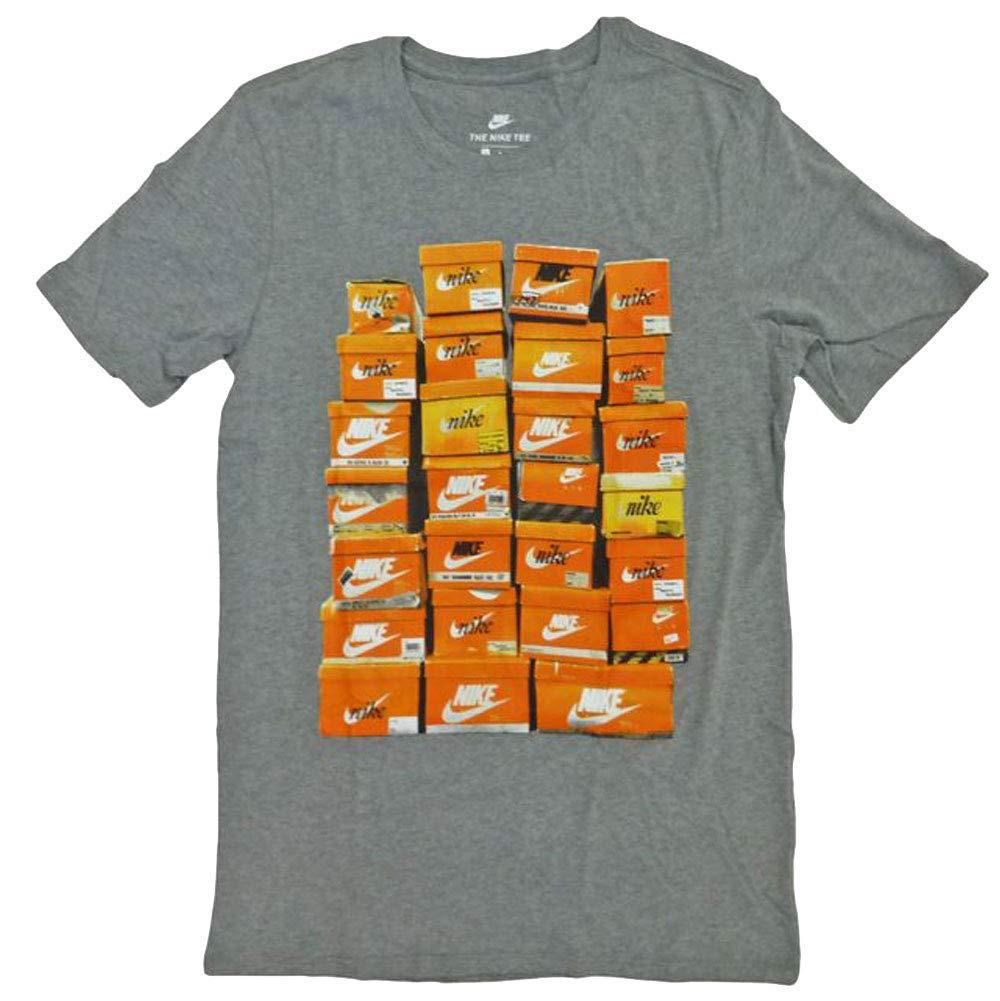 Nike M Nsw Tee Vintage Shoebox T Shirt für Herren, Grau (Carbon HeatherCarbon Heather), Gr. S